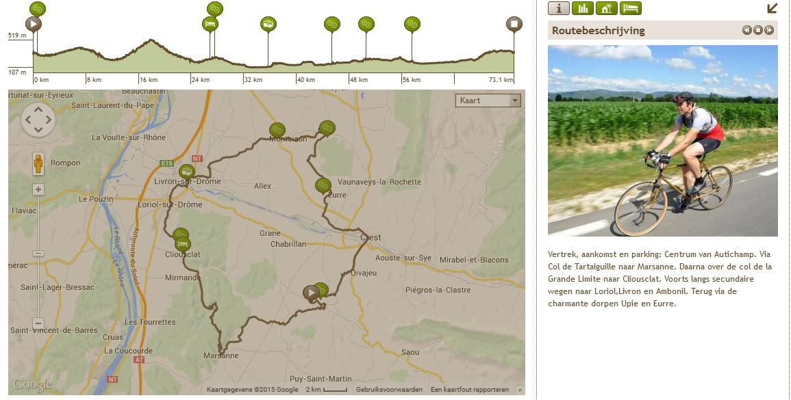 Autichamp – Col de la Grande Limite (race- en tourfiets)
