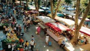 De leukste markten in de Drôme