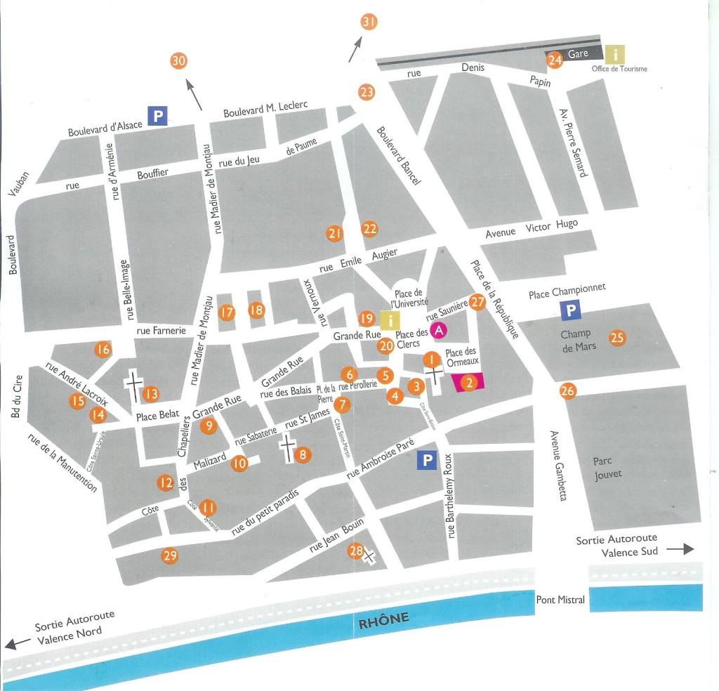 plattegrond valanece