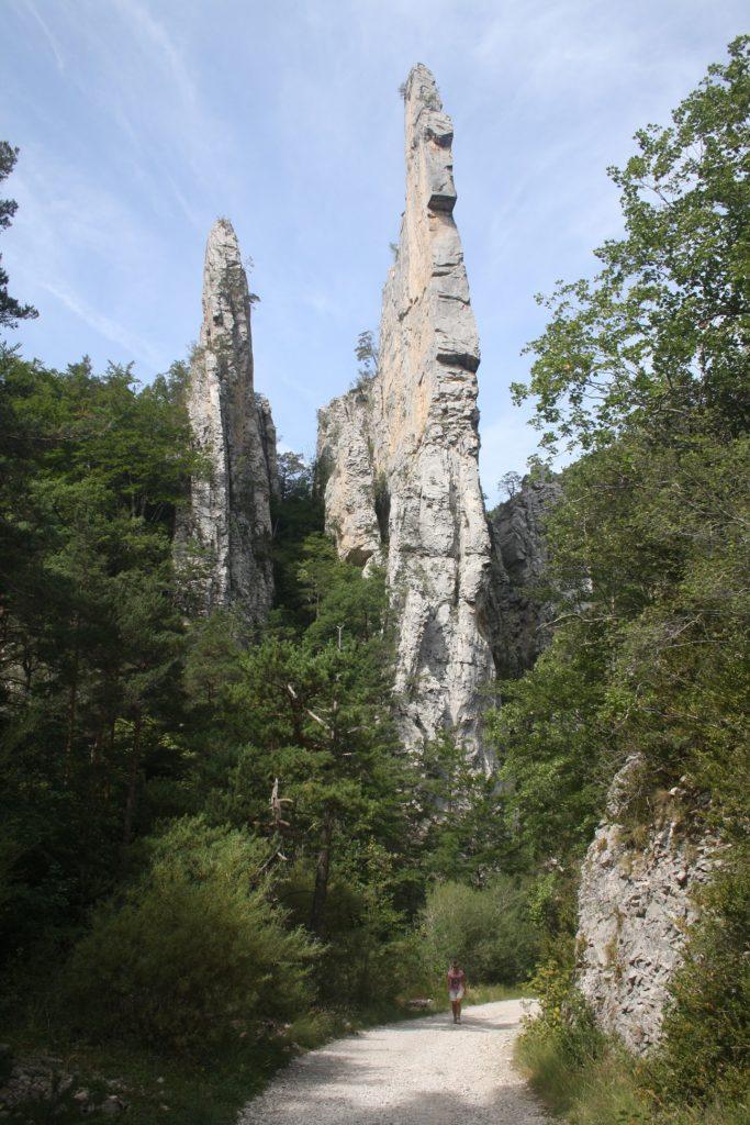 Les Sucettes de la Borne, Glandage (Wandeling)