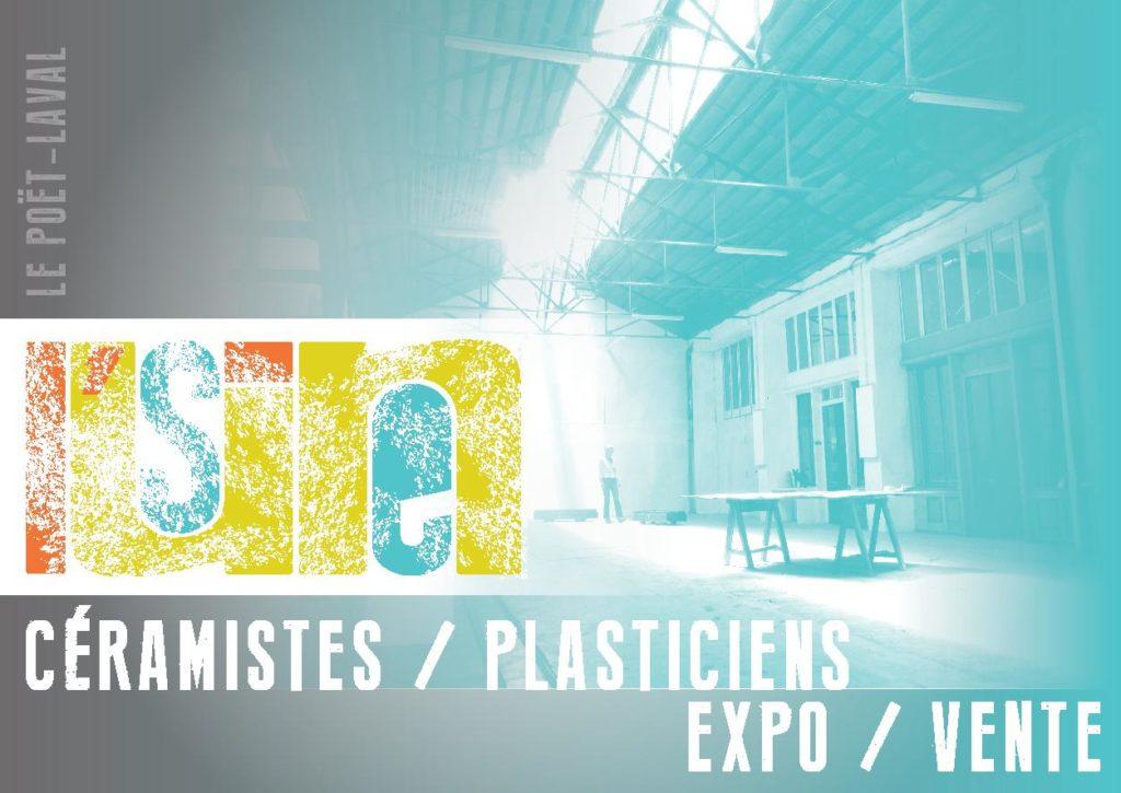 l'Usine, ateliers van kunstenaars in Poët-Laval