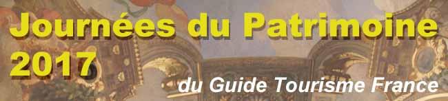 Journées du Patrimoine, Open erfgoeddagen 16 en 17 september