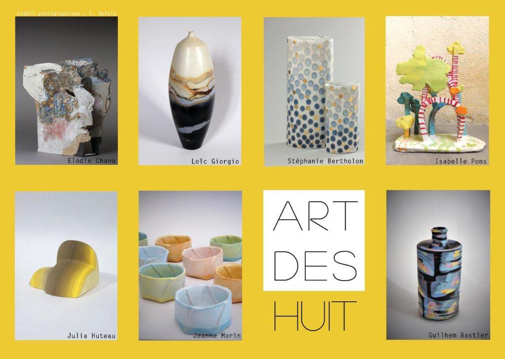 8 kunstenaars exposeren samen in Dieulefit