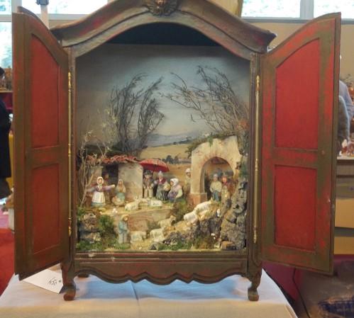 'Armoires-crèche', bijzondere kerststalletjes in Nyons