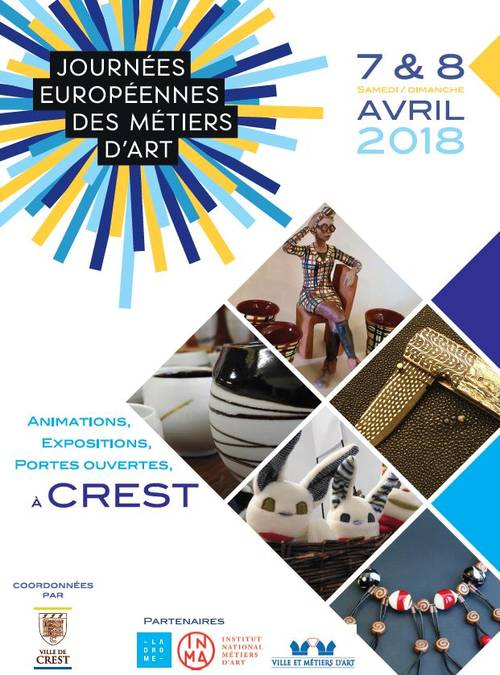 Europese dagen van de Kunst, hele Drôme, 7 en 8 April