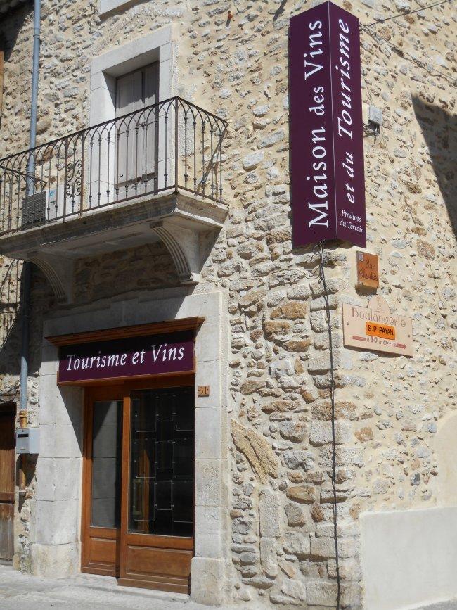 Maison des Vins, Mirabel aux Baronnies en wijnfeesten in juli/augustus