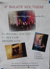 Avondwandeling met kleine optredens, Dieulefit