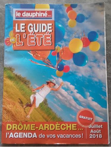 Gratis gids met alle evenementen in de Drôme in augustus