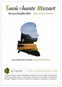 Saoû chante Mozart 2 tot 24 juli