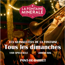 Les Guinguettes de la Fonaine, Pont-de-Barret