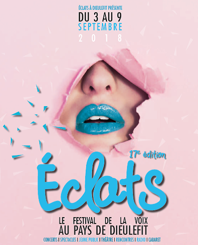 3-9/9 Festival Eclats, Dieulefit (Muziek, Zang, Cabaret en Dans)