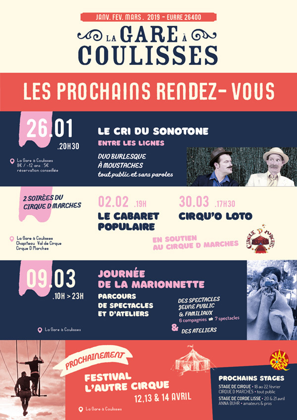 Theater en spektakel bij Gare des Coulisses, Eurre