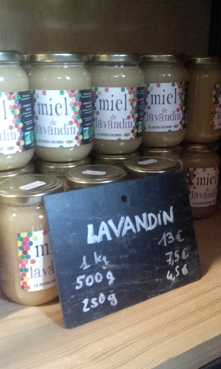 Honing van La Ruche Colombe, Saoû