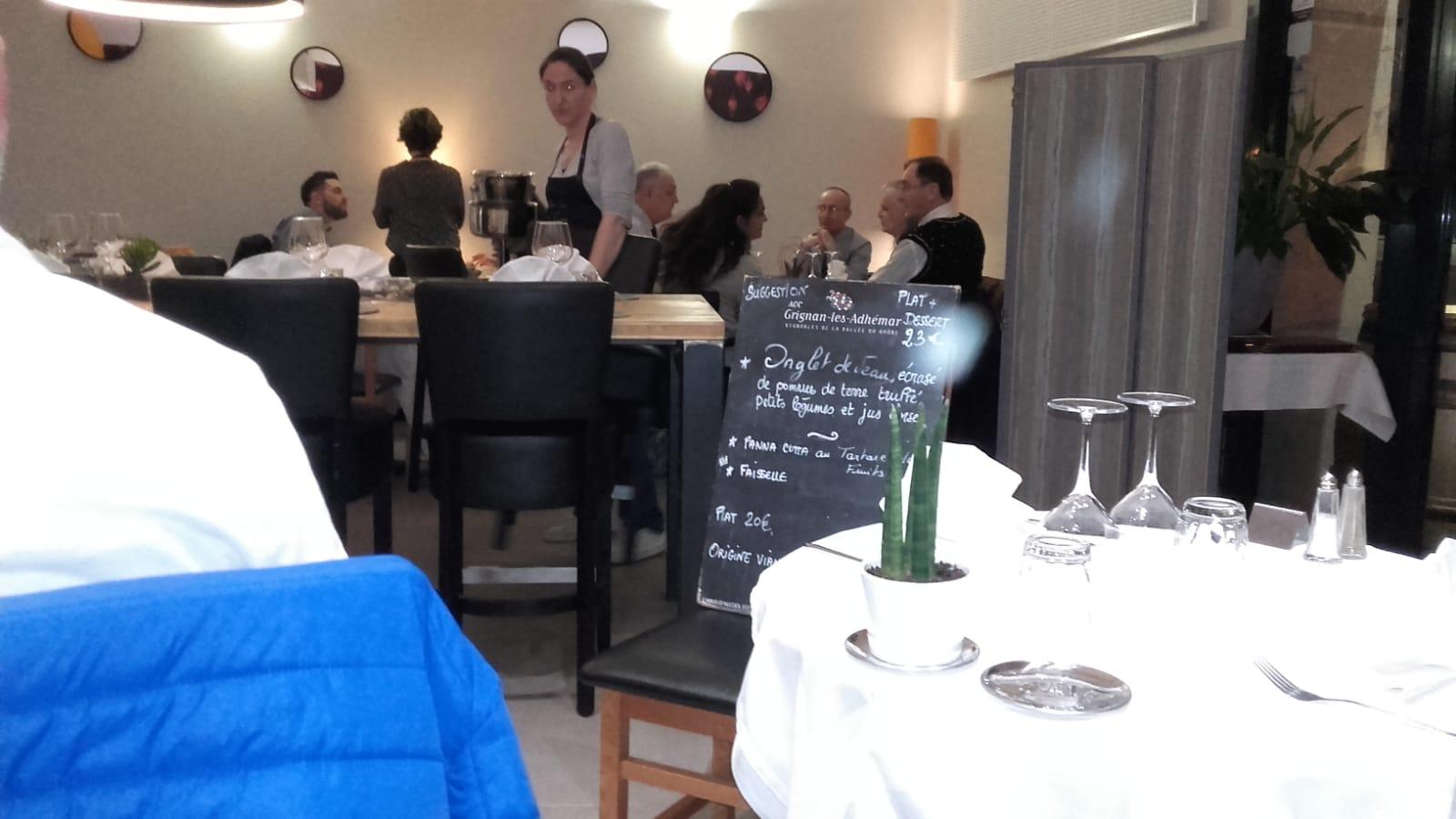 Fijn restaurantje in Crest: La Salle à Manger
