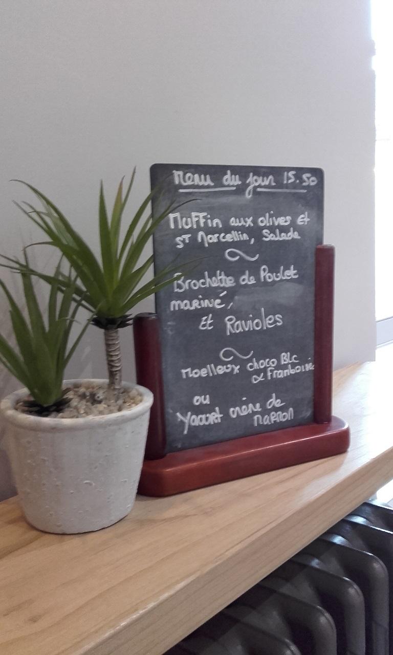 Goed en niet duur restaurant La Paillette (ten zuiden van Dieulefit)