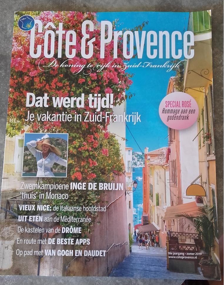 Kastelen in de Drôme, artikel in de Côte & Provence