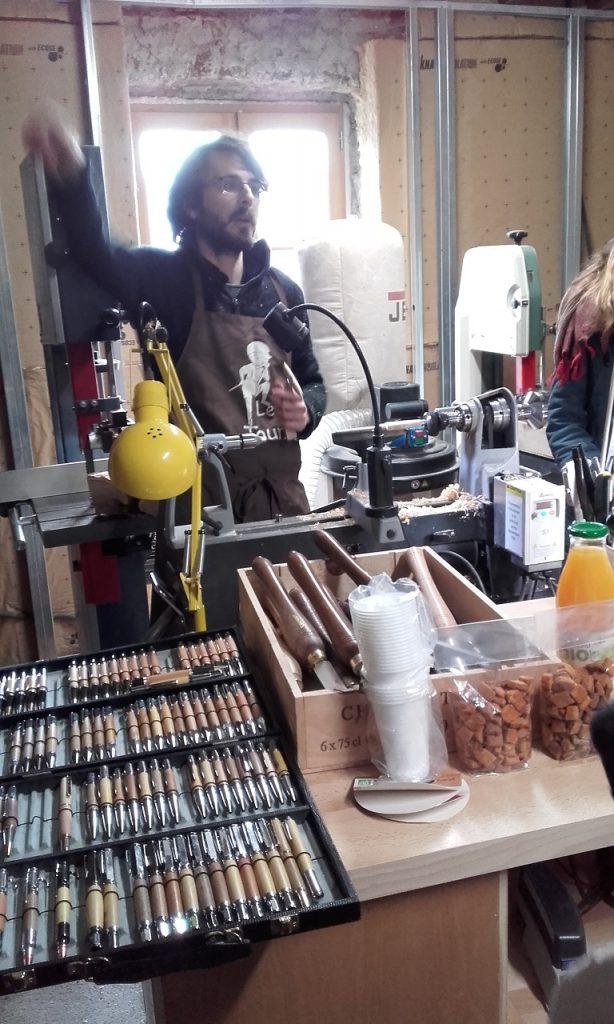 Ambachtelijke houtdraaier, Vercheny