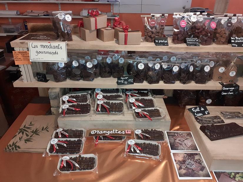 Chocolatier in Aoûste-sur-Sy
