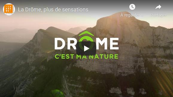 Prachtige vidéo, De Drôme in het kort