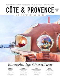Artikel 'Tour de Provence' in de Côte & Provence