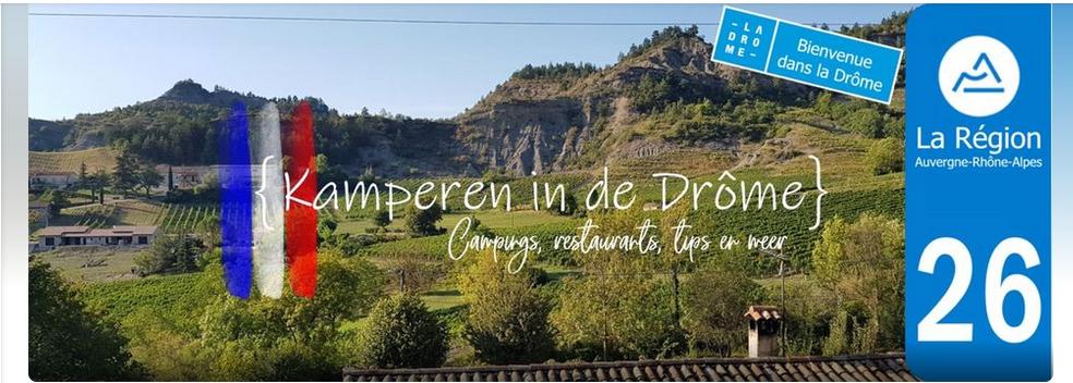 Facebookgroep Kamperen in de Drôme